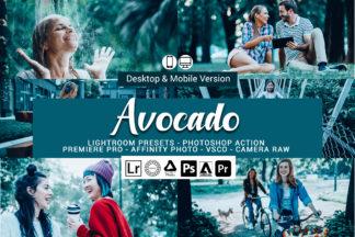 Forest Lightroom Presets - Avocado -