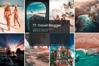 Lifestyle Lightroom Presets - 77.Travel Blogger 01 1 -