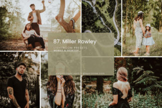 Clean White Lightroom Presets - 87.Miller Rowley 01 -