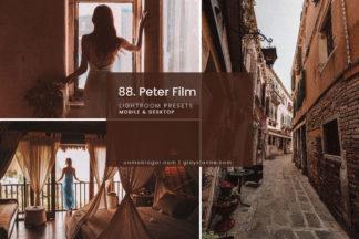 Outdoor Lightroom Presets - 88.Peter Film 01 -