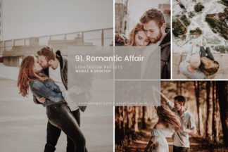 Clean White Lightroom Presets - 91.Romantic Affair 1 -