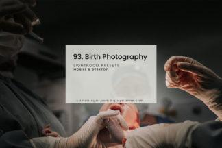 Nude Lightroom Presets - 93.Birth 1 -