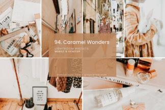 Outdoor Lightroom Presets - 94.Caramel Wonder 01 -