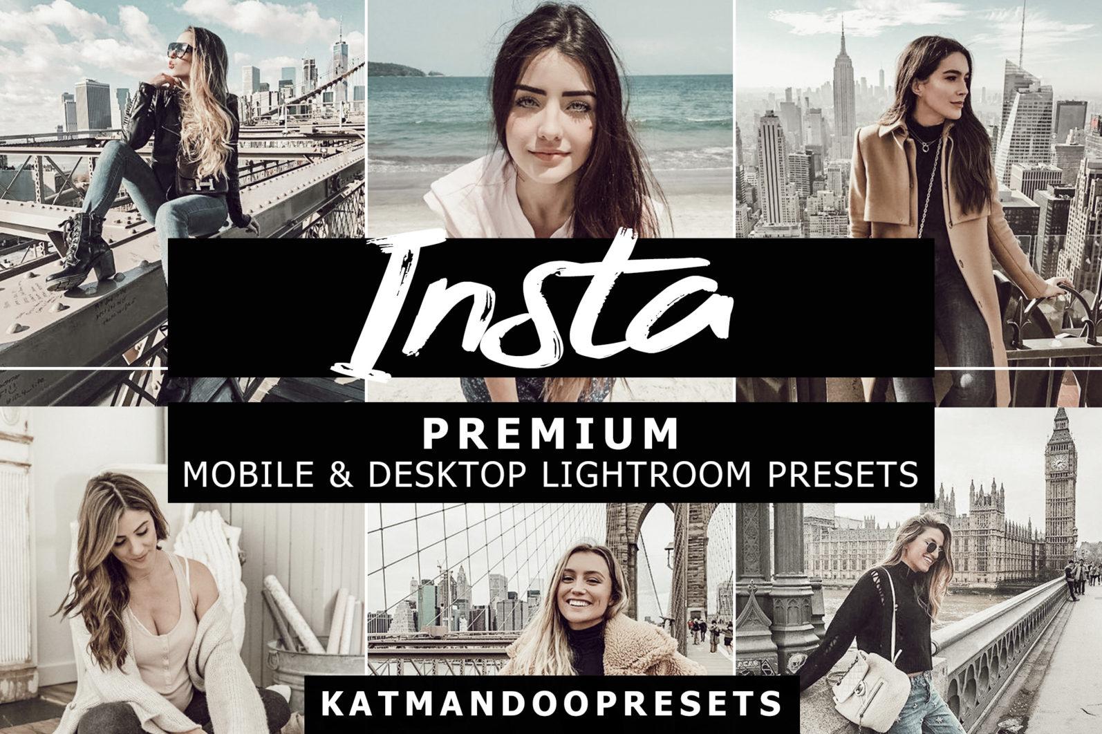 5 Mobile & Desktop Presets INSTA - insta lightroom crella 2 -