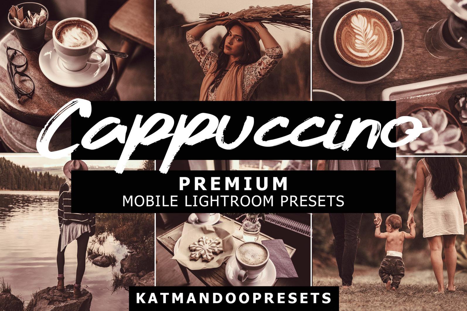15 Mobile Presets CAPPUCCINO - cappuccino lightroom crella 2 -