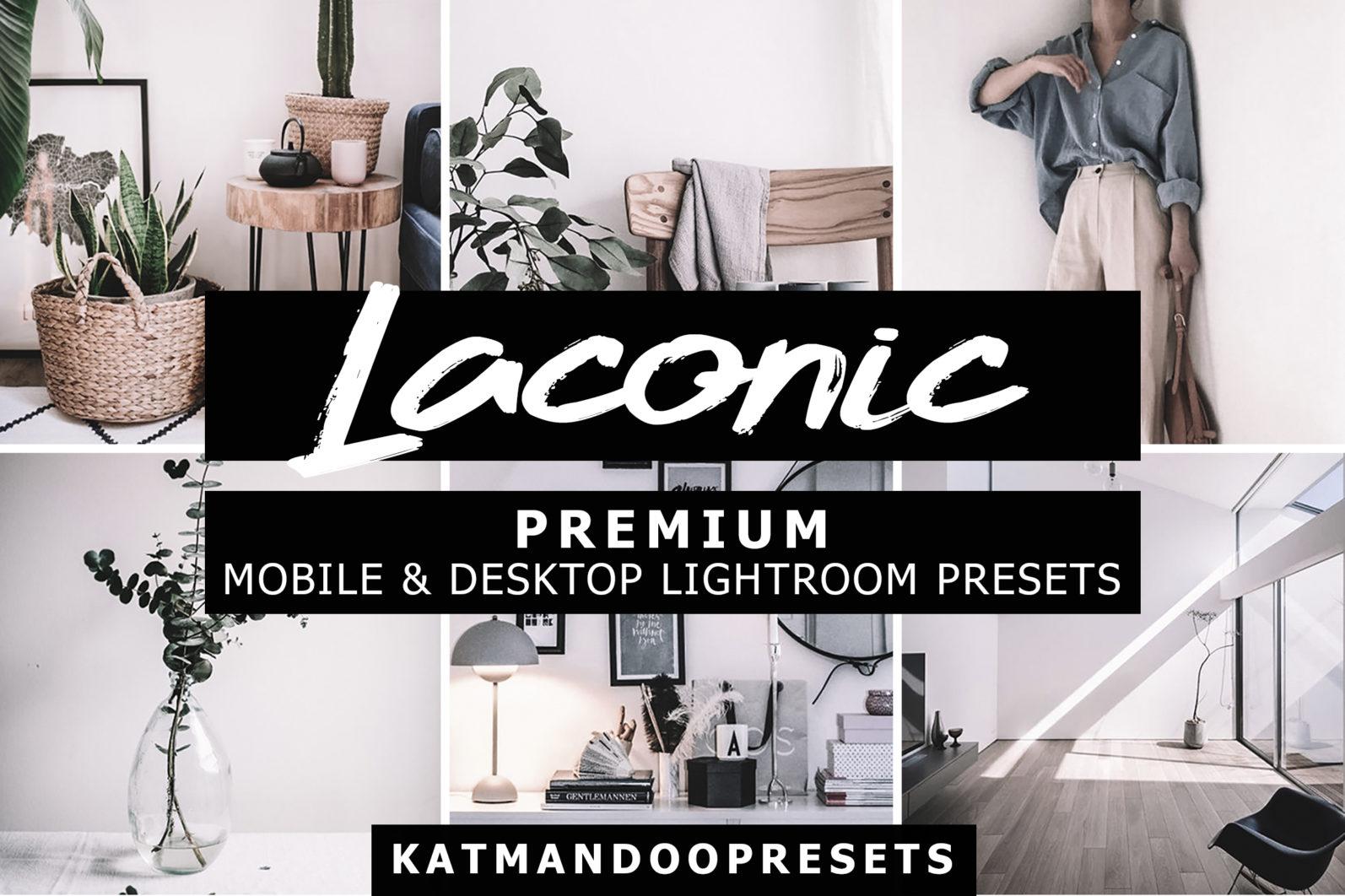 15 Mobile & Desktop Presets LACONIC - laconic lightroom crella 2 -