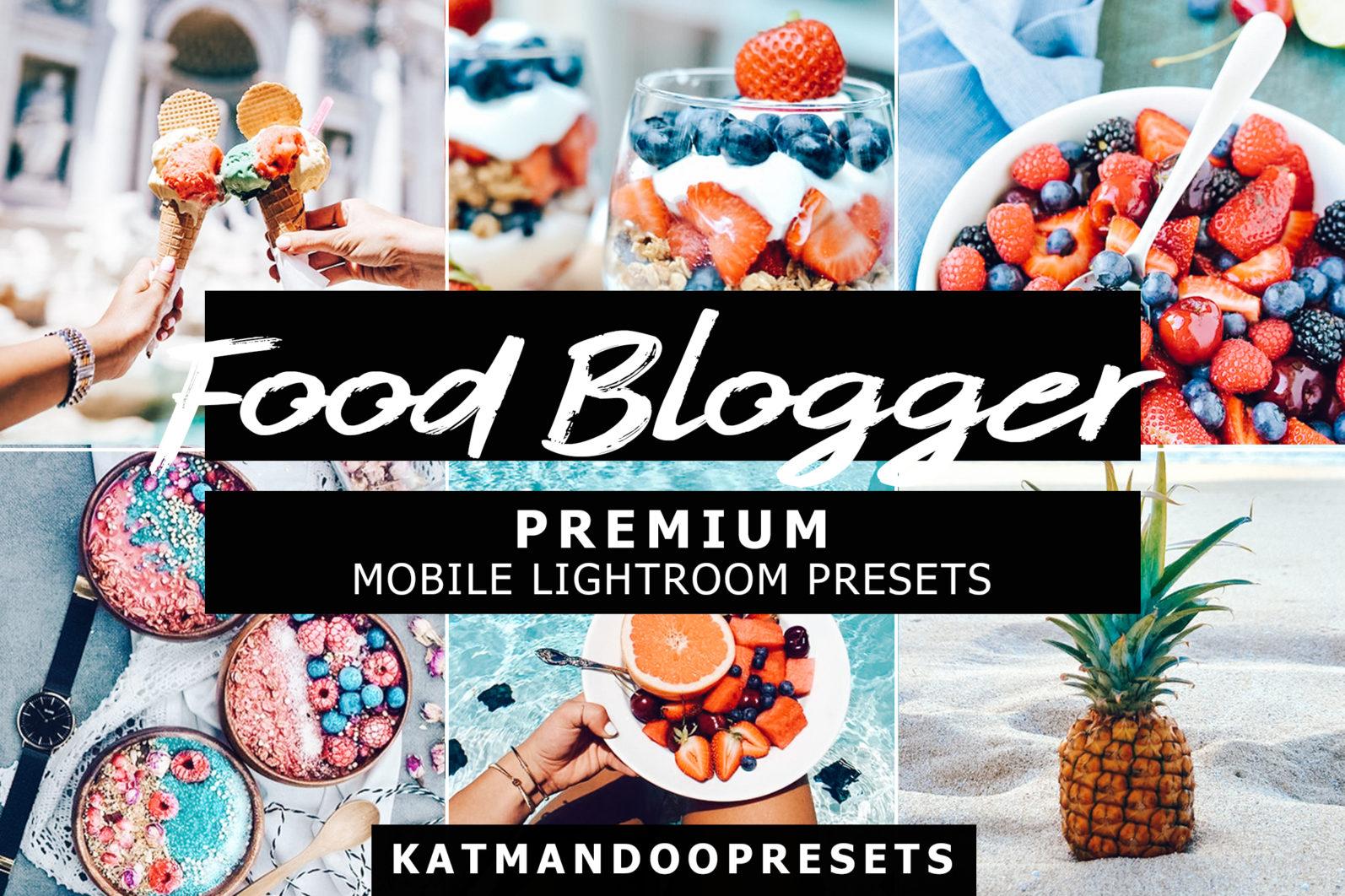 10 Mobile Presets FOOD BLOGGER - food blogger lightroom crella 2 -
