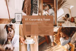 Lifestyle Lightroom Presets - 97.Caramel Toast 01 -
