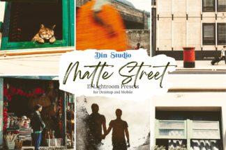 Urban Lightroom Presets - Matte Street 1 -