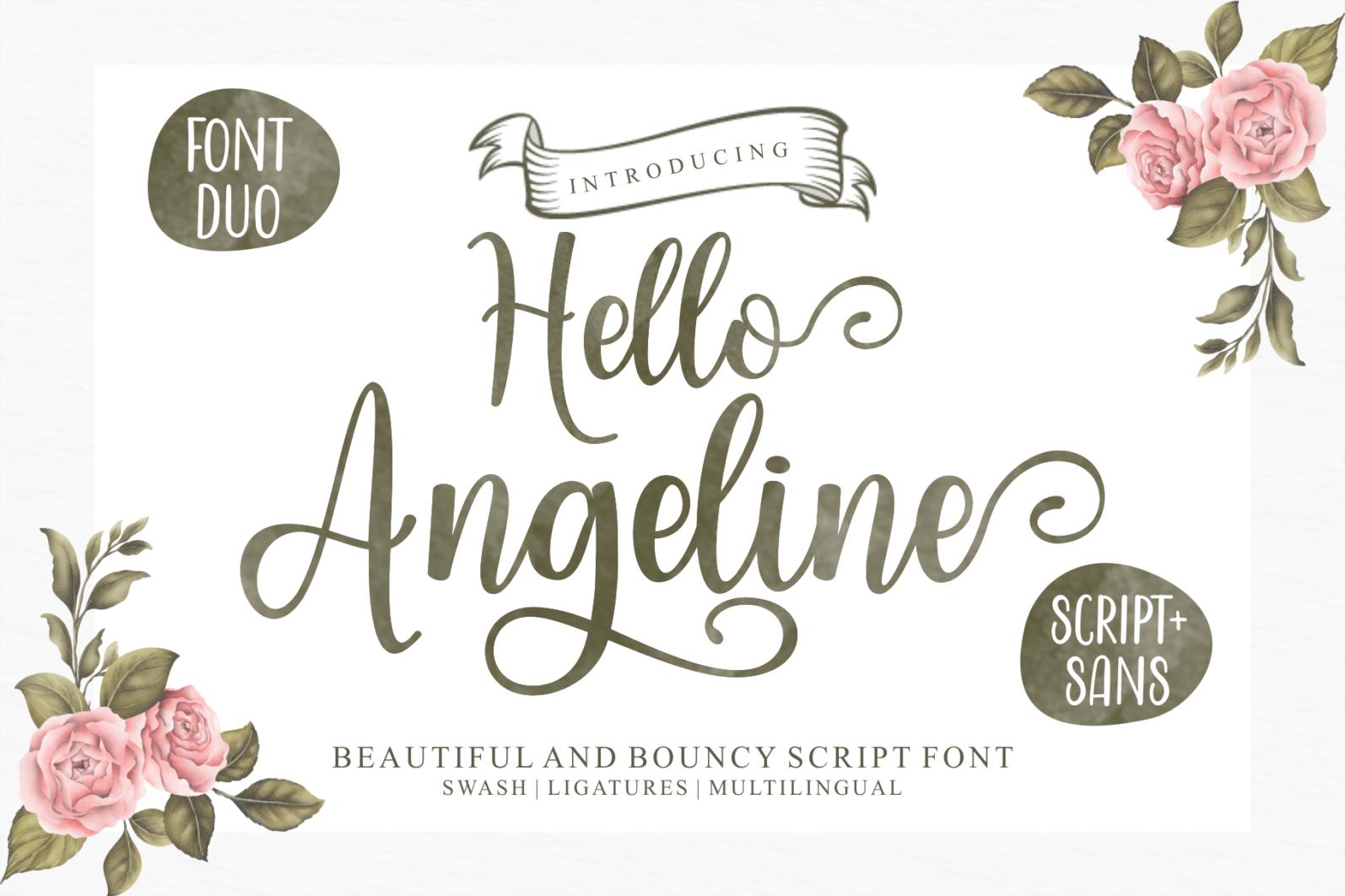 Beautiful Script Font Bundle - 1 94 -