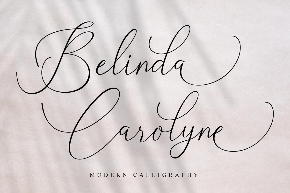 Beautiful Script Font Bundle - 1 96 -