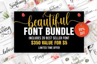 "<span style=""display: none"">Font Bundles</span> - Cover 11 -"