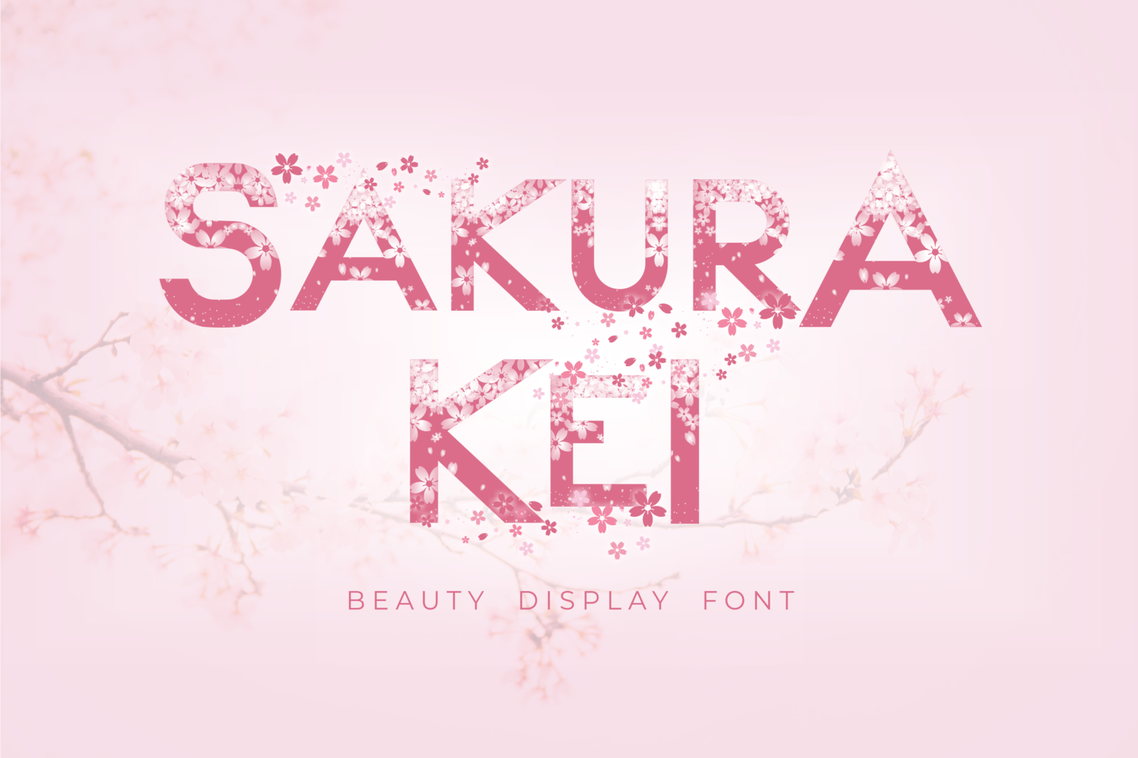 Creative Font Bundle - Preview Sakura Kei 1 -