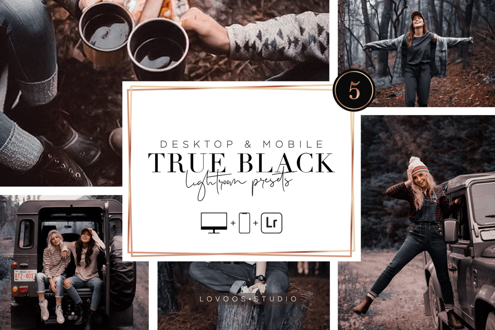 TRUE BLACK - Lightroom Presets - A 01 -