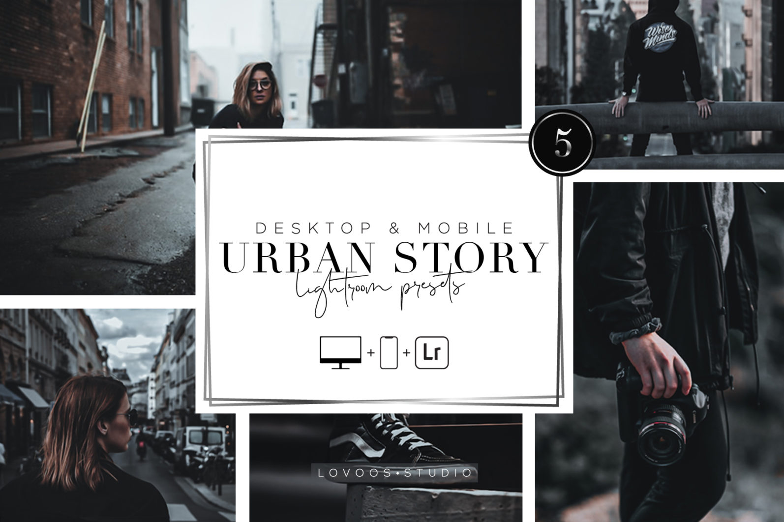 URBAN STORY - Lightroom Presets - A 02 -