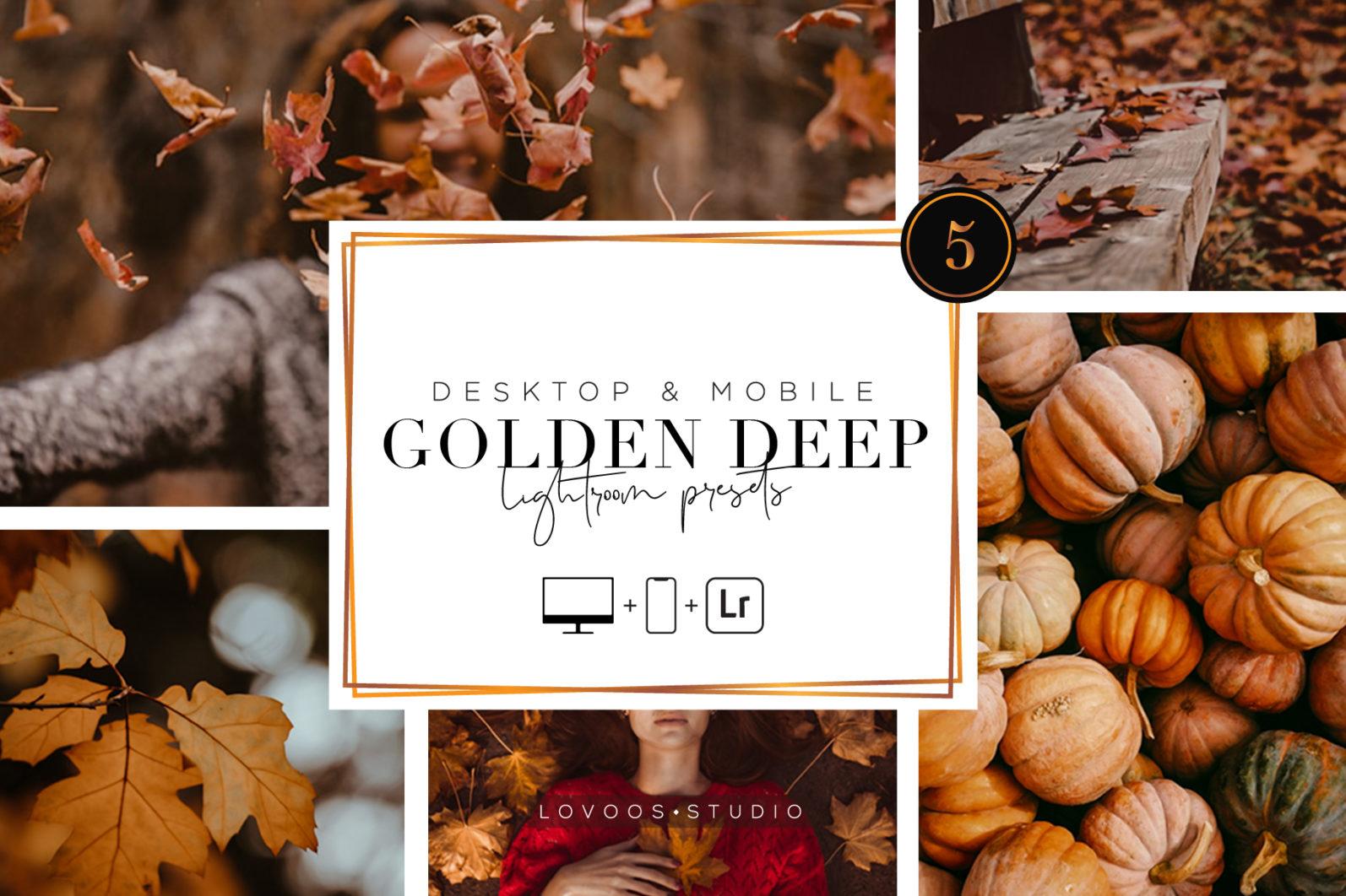 GOLDEN DEEP - Lightroom Presets - A 06 -