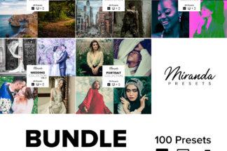 Mobile Lightroom Presets - Banner Bundle vol2 -