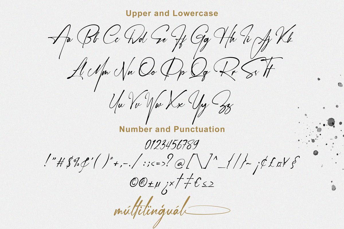 Janelotus - Signature Font - 8 28 -