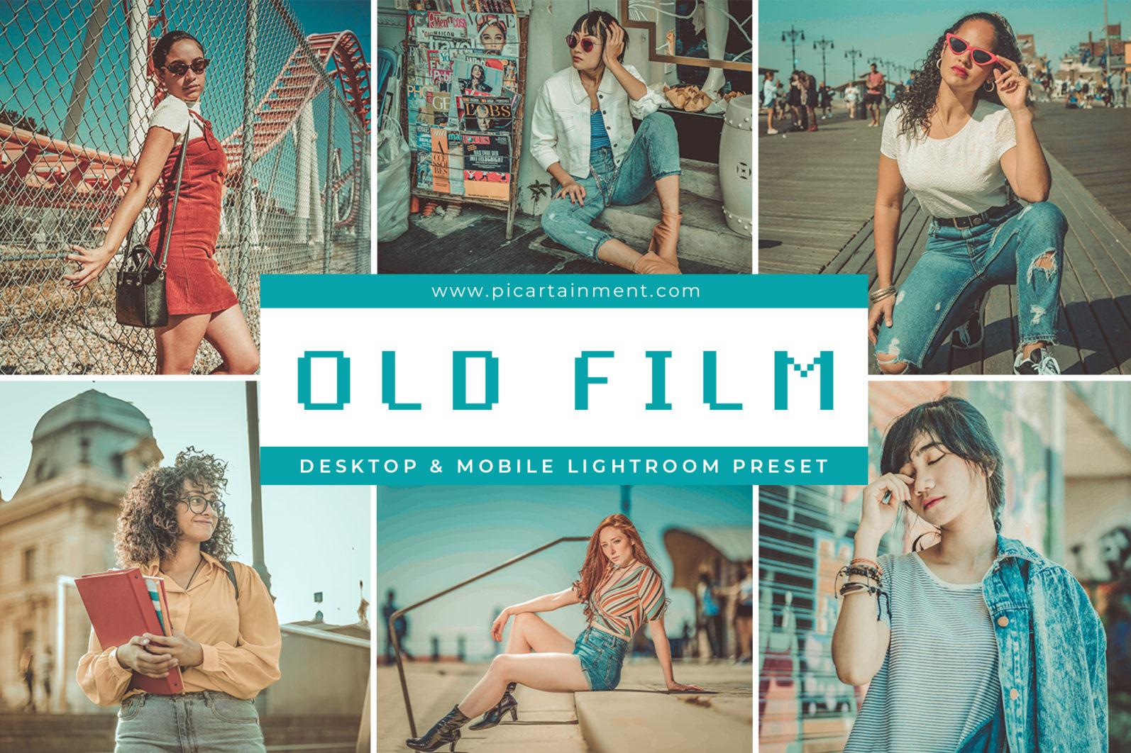 Old Film x5 Lightroom presets - Cover 2 -