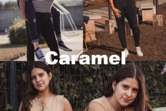 Free Lightroom Presets - Caramel -