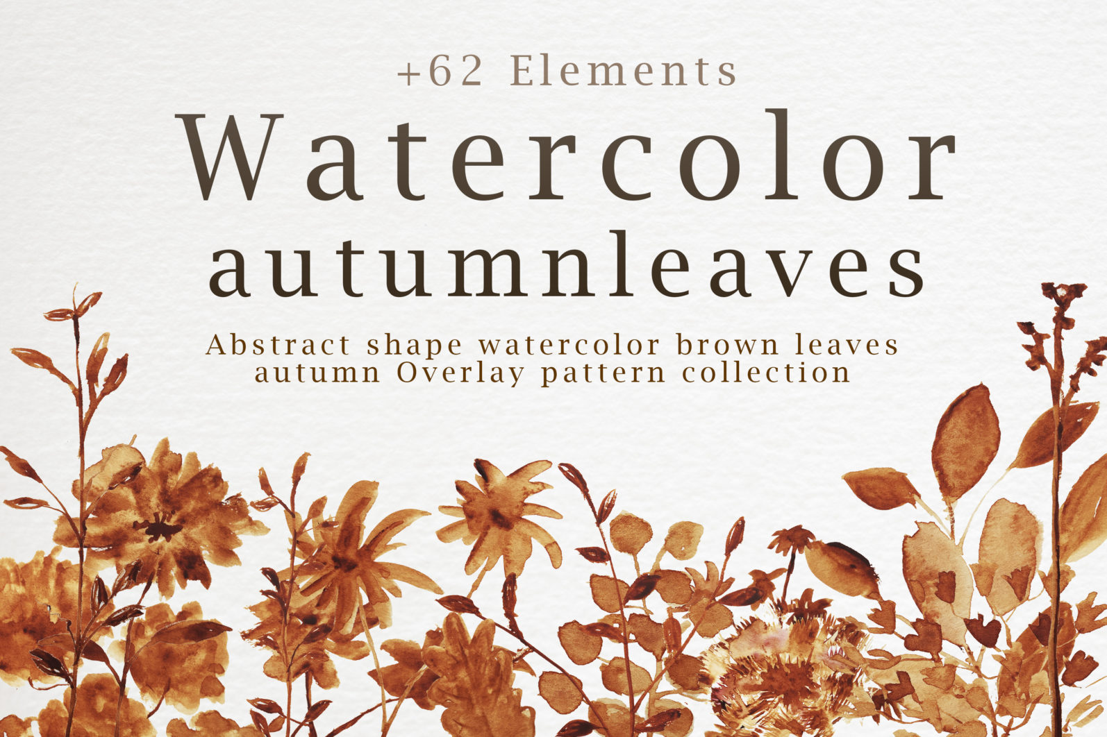 Abstract shape watercolor brown leaves autumn - %E0%B8%AB%E0%B8%99%E0%B9%89%E0%B8%B2%E0%B8%9B%E0%B8%81 1 scaled -