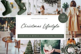$1 Lightroom Preset Deals - Christmas Lifestyle LR -