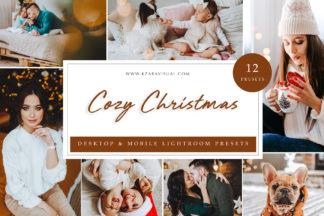 Influencer Lightroom Presets - Cozy Christmas LR -