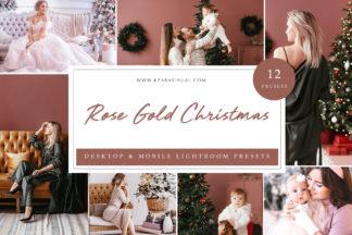 Mobile Lightroom Presets - Rose Gold LR -