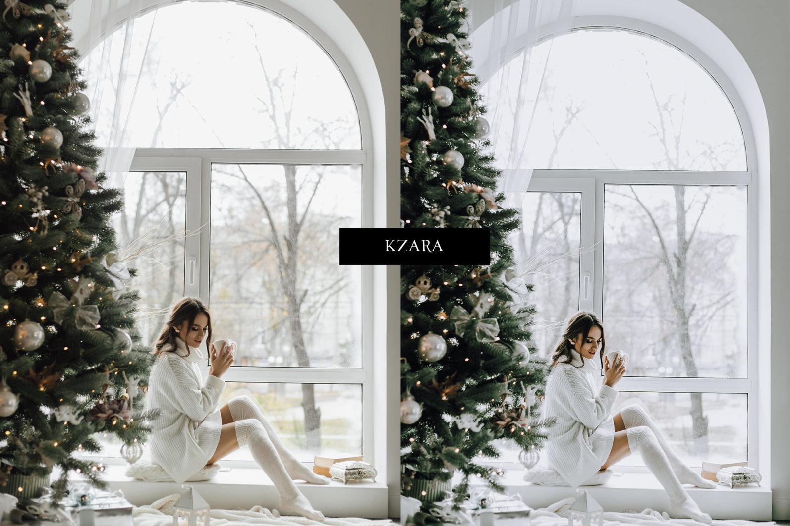 12 x Lightroom Presets, Winter Green Presets, Lanscape Presets, Green Tones Presets - Winter Green Preview 7 -