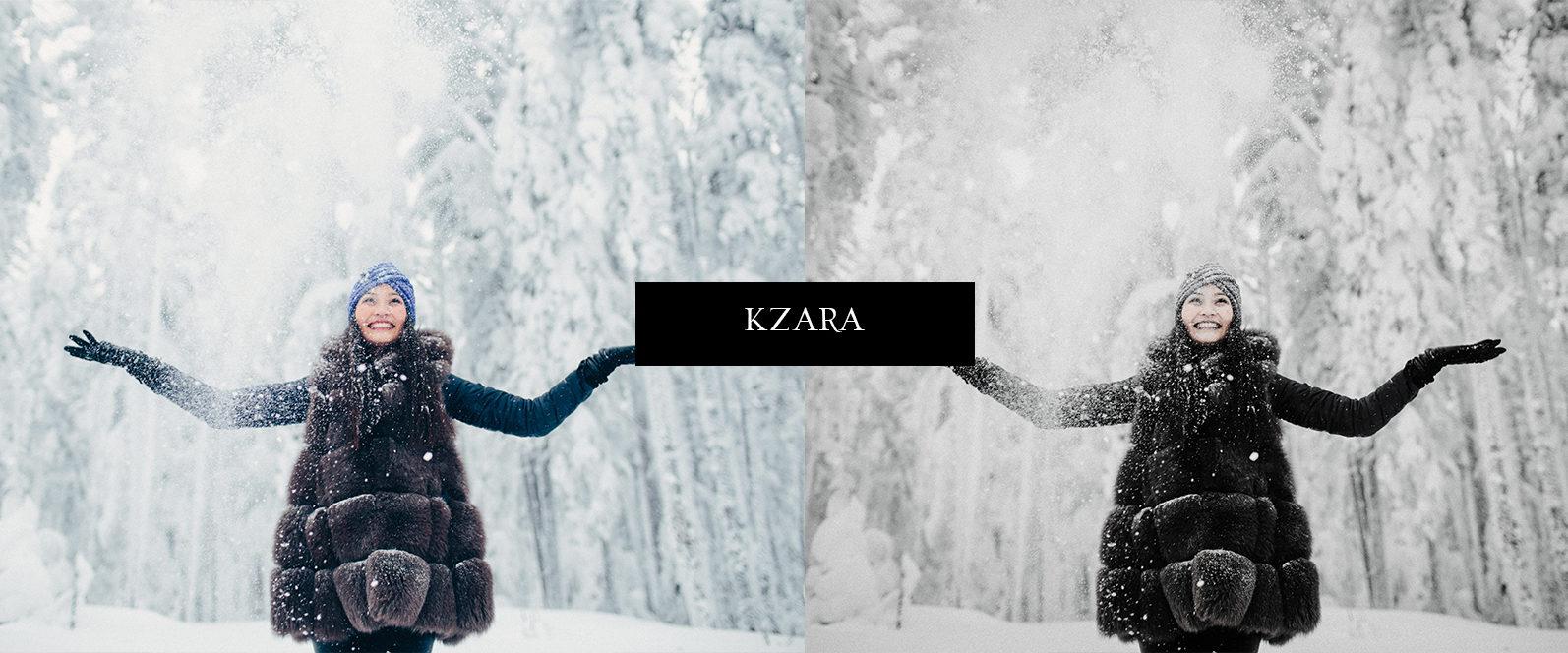 12 x Lightroom Presets, Winter Magic Presets, Outdoor Presets, Gray Tones Presets, Portrait Presets - Winter Magic Preview 1 -