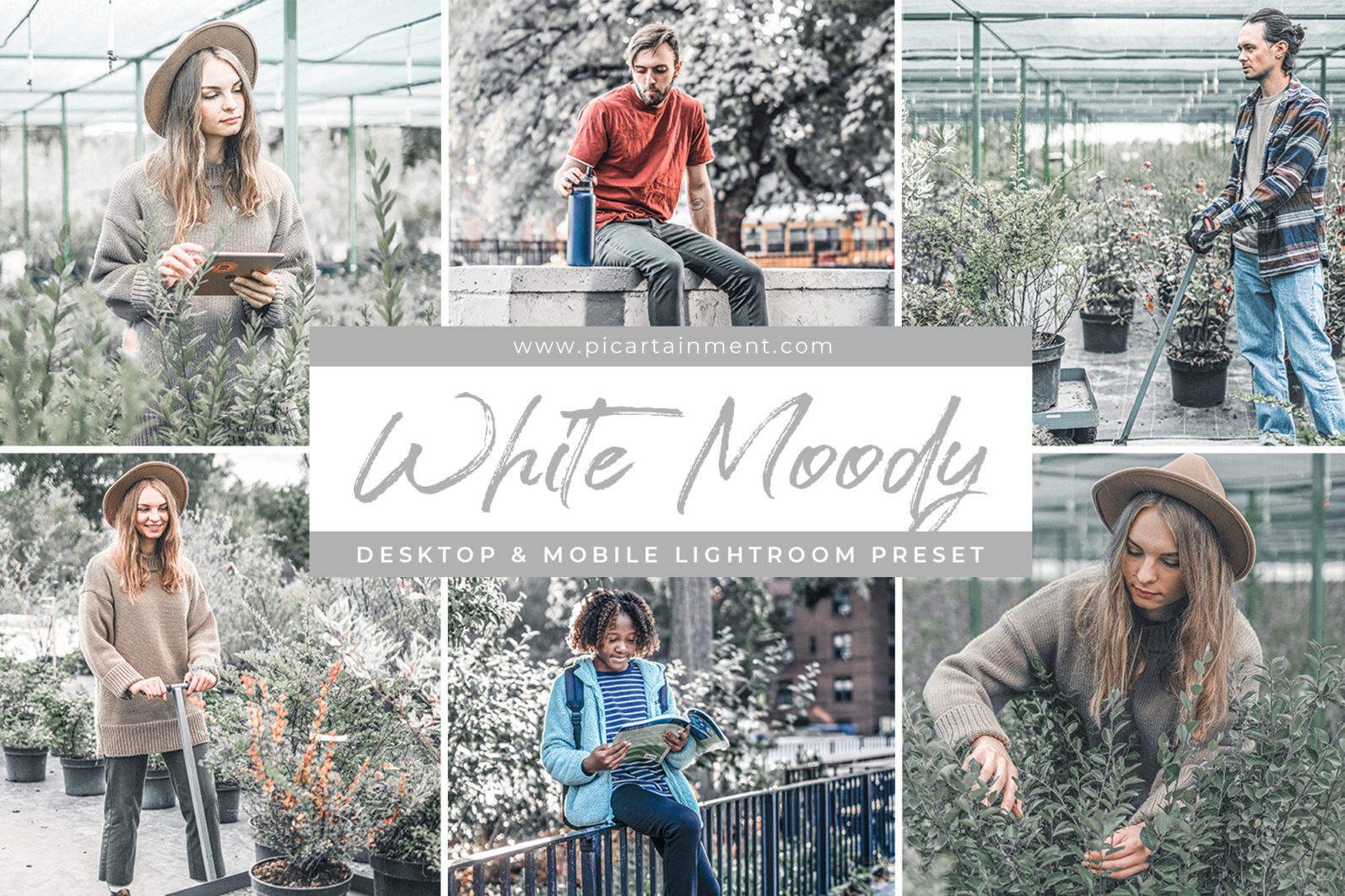 White Moody x5 Lightroom Presets - Cover 14 -