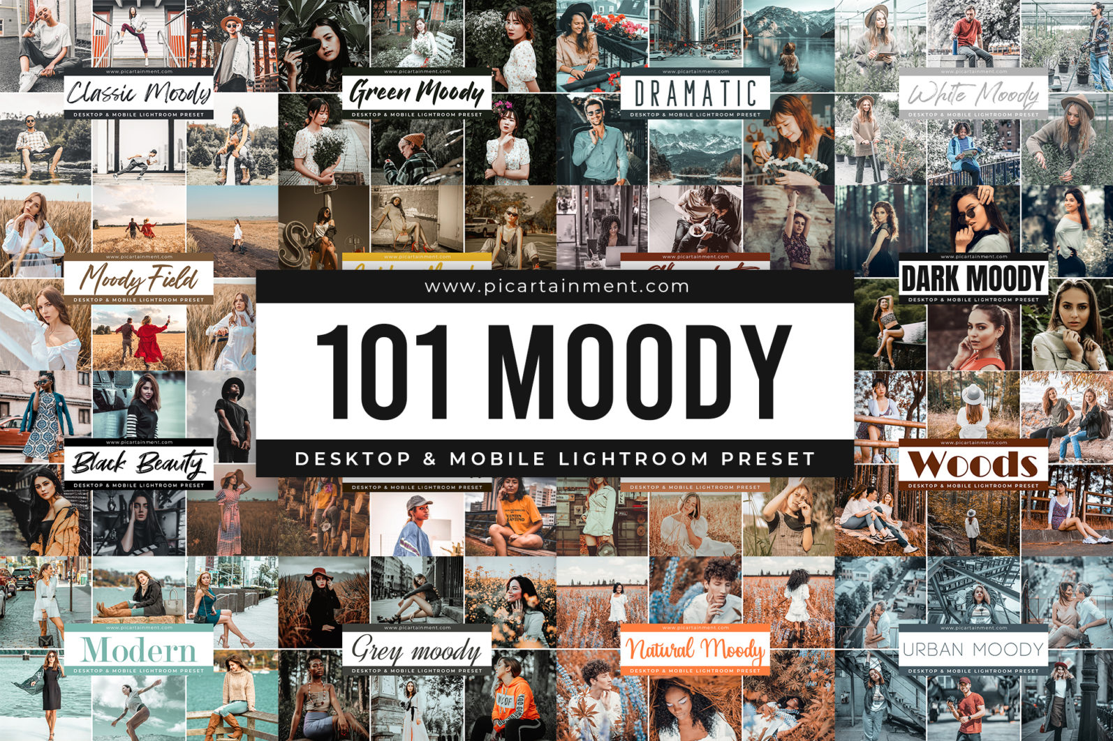 101 Moody Lightroom Presets - Cover 18 -
