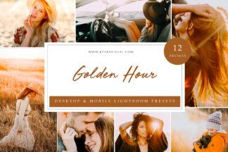 Influencer Lightroom Presets - Golden Hour LR -