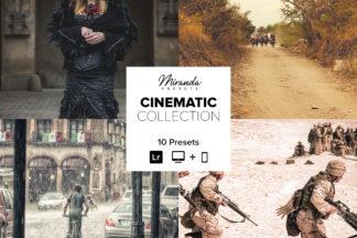 Cinematic Lightroom Presets - Banner Cinematic -