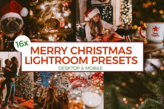 Christmas Lightroom Presets - MC00 -