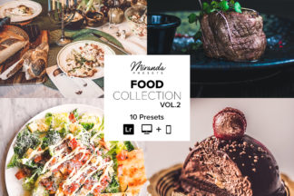 Food Lightroom Presets - Banner Food vol2 -