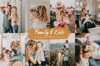 Spring Lightroom Presets - family -