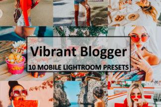 Spring Lightroom Presets - Vibrant Blogger -