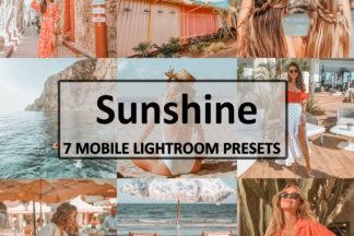 Spring Lightroom Presets - sunshine -