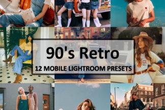 Spring Lightroom Presets - retro -