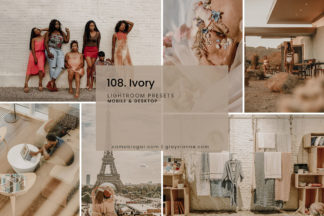 Minimalistic Lightroom Presets - 108.Ivory 01 -