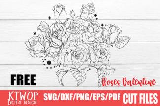 Free SVG Files - ROSE FREE -