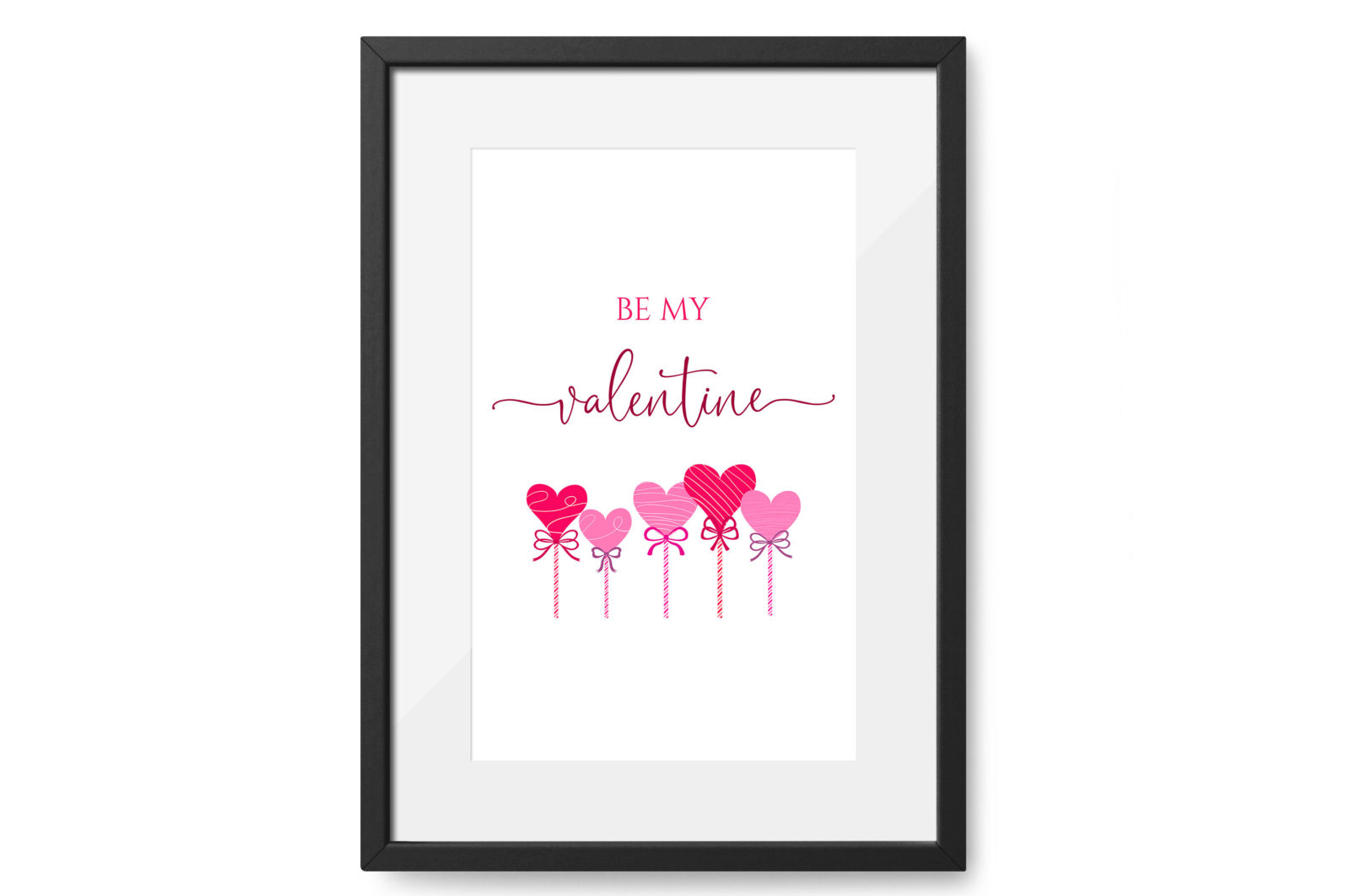 """Be Me Valentine"" Printable - be my valentine 2 scaled -"