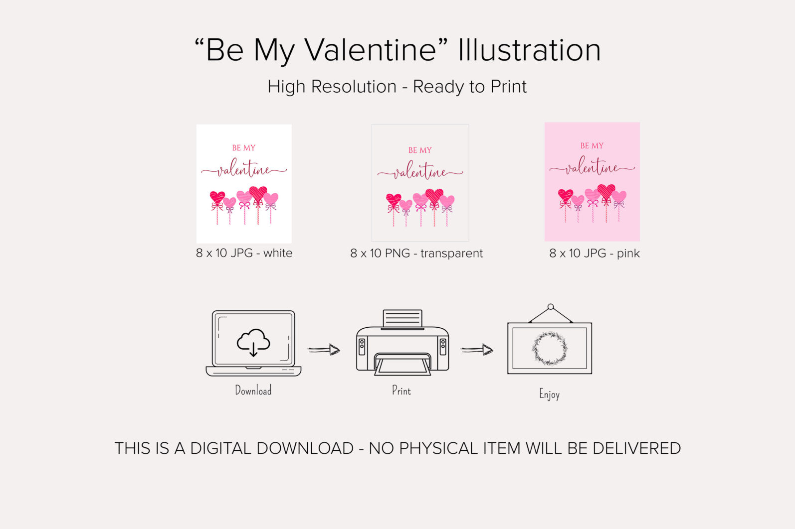 """""""Be Me Valentine"""" Printable - be my valentine product details scaled -"""