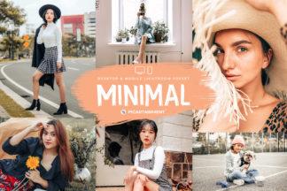 Minimal Lightroom Presets - Cover 1 -