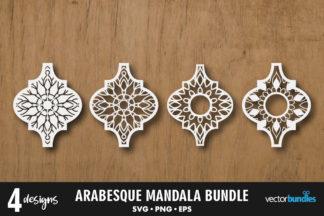 "<span style=""display: none"">Craft Bundles</span> - arabesque mandala -"