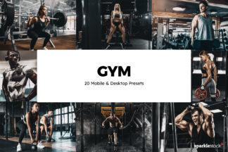Fitness Lightroom Presets - 01 23 25 -