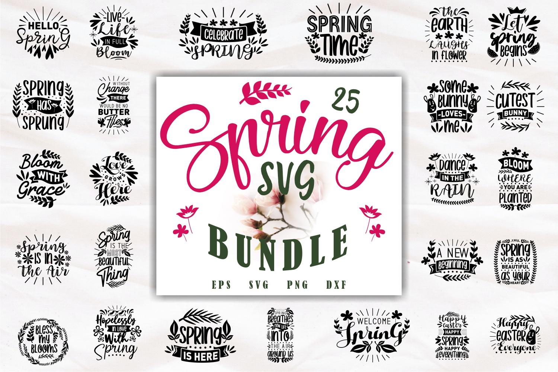 Spring SVG Quotes Bundle, Spring Season SVG - Spring -
