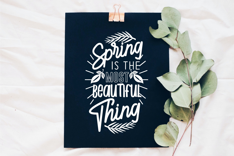 Spring SVG Quotes Bundle, Spring Season SVG - 2 22 -