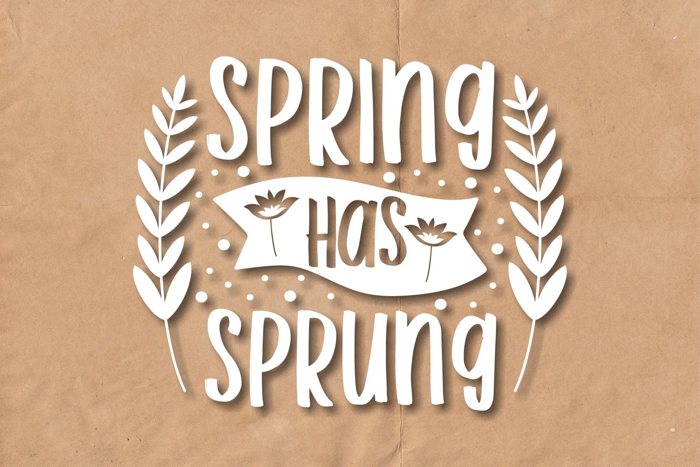 Spring SVG Quotes Bundle, Spring Season SVG - 7 19 -